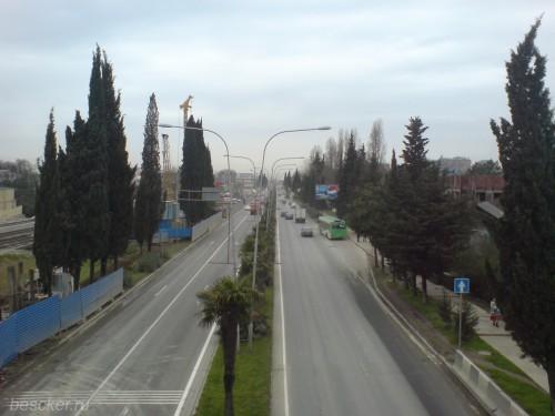 Адлер. Улица Ленина