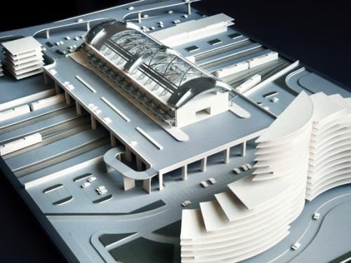 Адлерский вокзал. Проект
