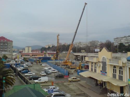 Адлер. Вокзал. Март 2010
