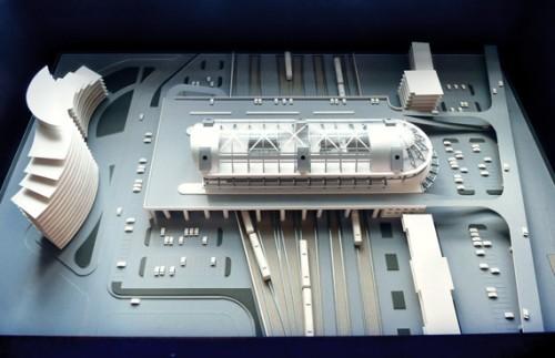 Проект. Адлерский вокзал
