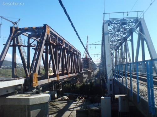 Адлер. Мосты над Мзымтой