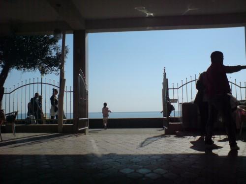 Адлер. Море. Кафе
