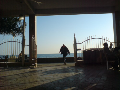 Адлер. Кафе. Море