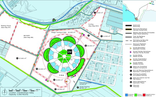 Нижнеимеретинская бухта. Олимпийский парк Сочи-2014. Схема. План