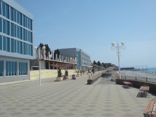 """Набережная пляжа """"Огонек"""" 2010"""