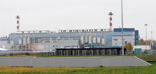 Завод по сжиганию осадка сточных вод