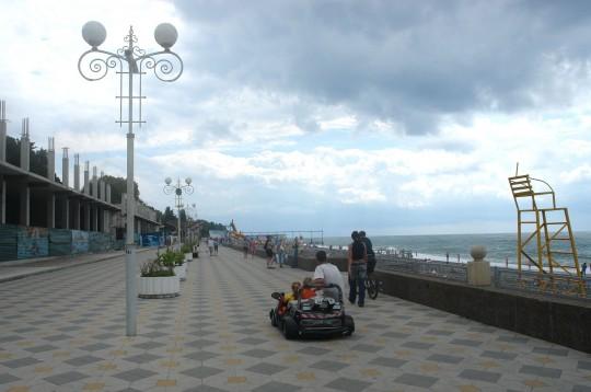 """Набережная пляжа """"Огонек"""" 2008"""