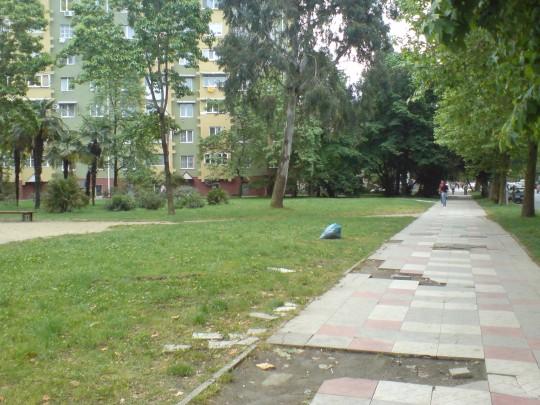 Адлер. Тротуары
