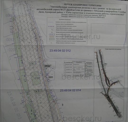 транспортная развязка голубые дали. схема 1