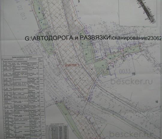 транспортная развязка голубые дали. схема 2