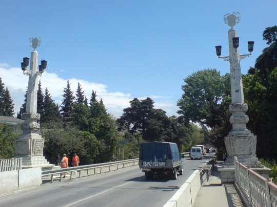 Адлер, Мзымта, Мост.