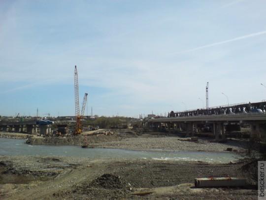 Мостоотряд-114 (Москва) преодолел Мзымту