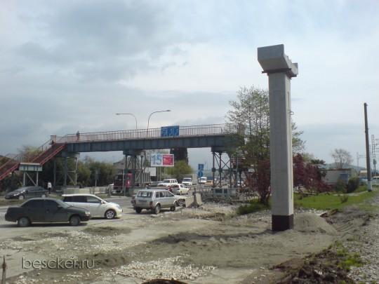 Новый надземный пешеходный переход