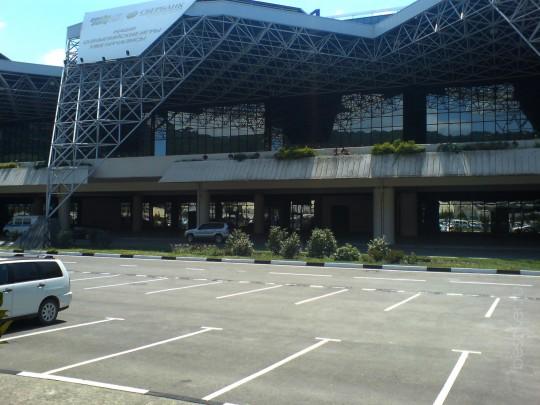Международный аэропорт «Сочи» (тот что кличут Адлерским, частенько)