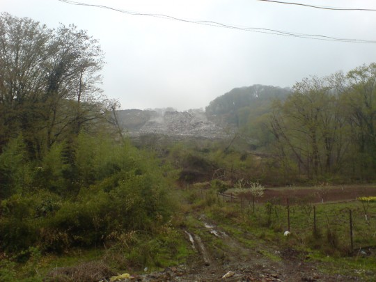 Адлерская свалка 2008