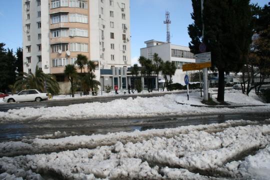 Адлер. Зима