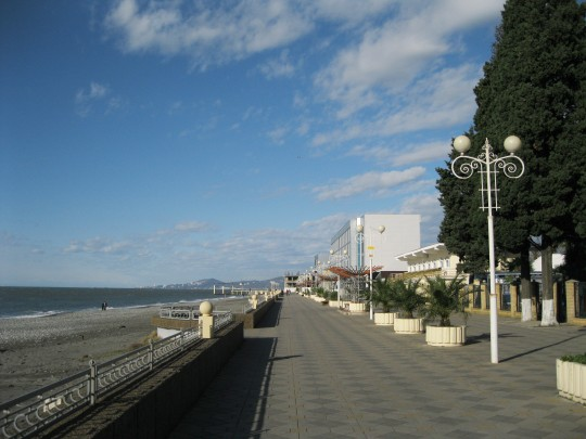 Пляж Огонёк